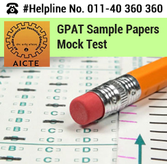 GPAT 2016 Sample Papers