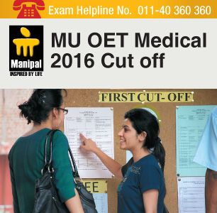 MU OET Medical 2016 Cut Off – release by Manipal University