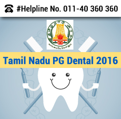 Tamil Nadu PG Dental 2016