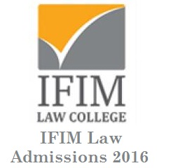 IFIM Law Admissions 2016; Apply Now