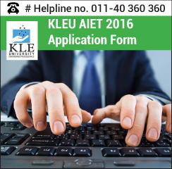 KLEU AIET 2016 Application form