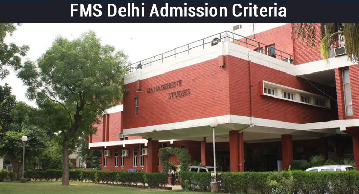 FMS Delhi Admission Criteria - 40% weightage on CAT VRC section to ensure diversity