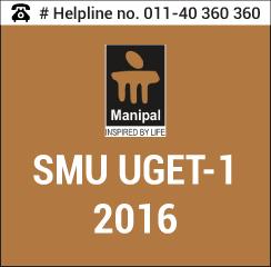 SMU UGET 1 2016