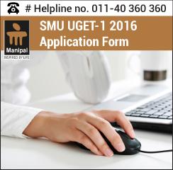 SMU UGET-1 2016 Application form