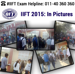 IIFT 2015 Test in Pictures