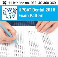 UPCAT Dental 2016 Exam pattern