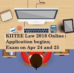 KIIT University announces KIITEE Law 2016 Online Application Form; Exam on Apr 24 and 25