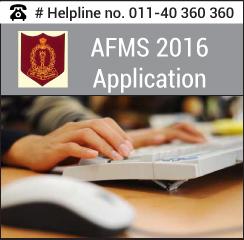 AFMS 2016 Application Form