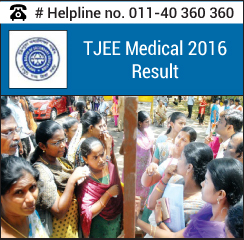 TJEE Medical 2016 Result