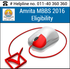 Amrita MBBS Eligibility 2016