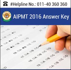 AIPMT 2016 Answer Key