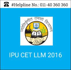 IPU CET LLM 2016