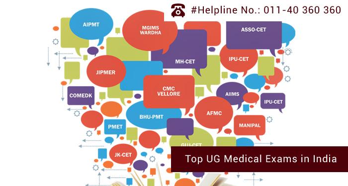 Top UG Medical Exams in India