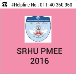 SRHU PMEE 2016