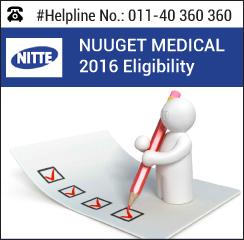 NUUGET Medical 2016 Eligibility