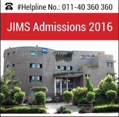JIMS announces PGDM admissions 2016-18