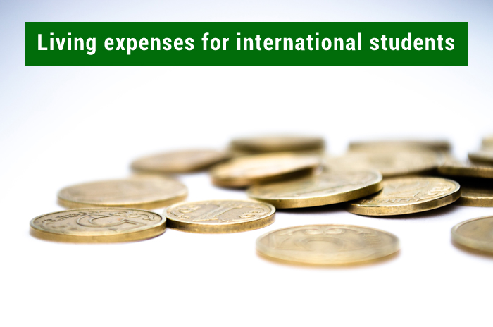 Living expenses for international students