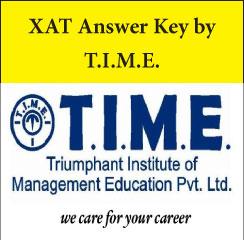 XAT Answer Key 2017 by T.I.M.E.