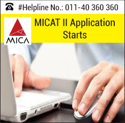 MICA Ahmedabad starts application for MICAT II from January 4