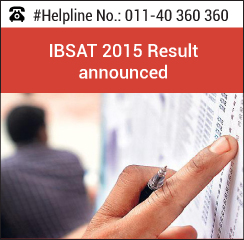 IBSAT 2015 results announced on January 8