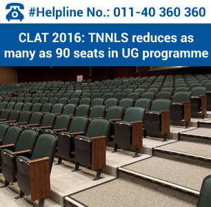 CLAT 2016: TNNLS reduces 90 seats in UG programme