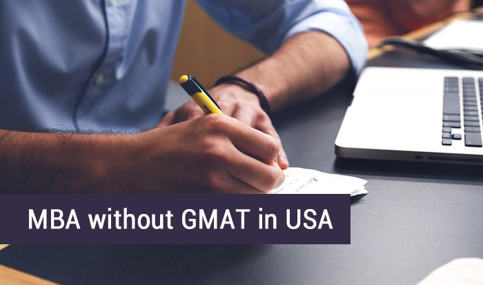 MBA without GMAT in USA