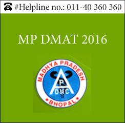 MP DMAT 2016