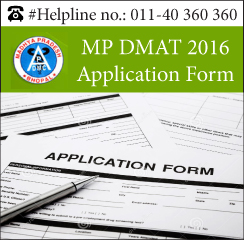 MP DMAT Application Form