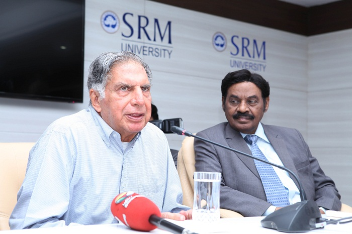 Take everything as a learning exercise and make a difference, says Ratan Tata