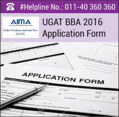 UGAT BBA 2016 Application Form