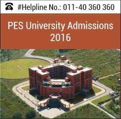 PES University announces MBA admissions 2016 batch