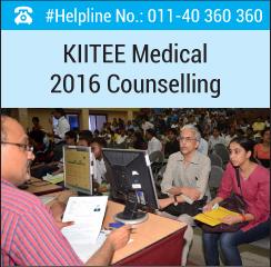 KIITEE Medical 2016 Counselling