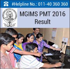 MGIMS PMT 2016 Result