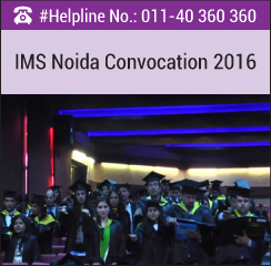 IMS Noida organizes PGDM Convocation Ceremony; awards degree to 200 students