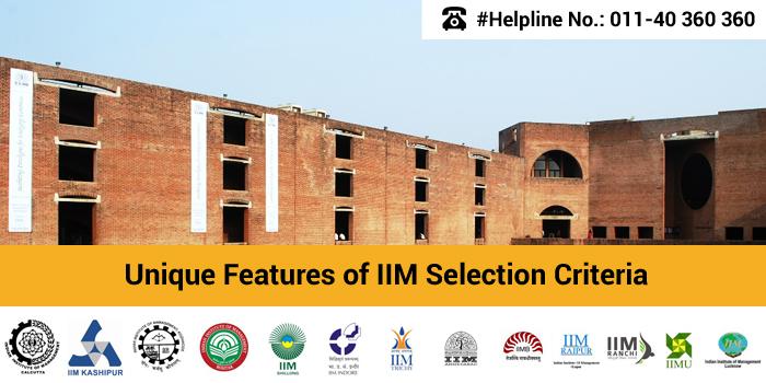 IIM Admission 2016: Unique Features of IIM Selection Criteria
