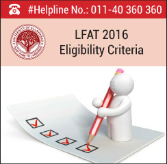 LFAT 2016 Eligibility Criteria