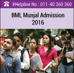 BML Munjal University announces MBA admission 2016