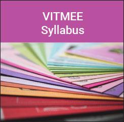 VITMEE Syllabus 2017