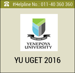 YU UGET 2016