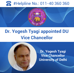 Dr. Yogesh Tyagi appointed DU Vice Chancellor