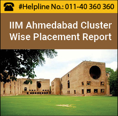 IIM Ahmedabad PGP Final Placement 2016: Cluster wise Placement Report