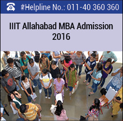 IIIT Allahabad announces MBA admissions 2016