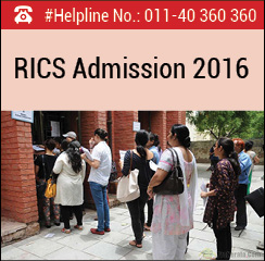 RICS School of Built Environment Announces MBA Admissions 2016