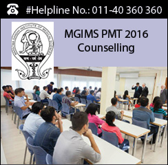 MGIMS PMT 2016 Counselling