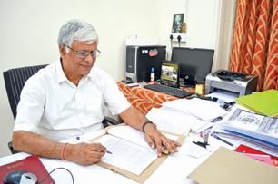 'The golden period of legal education is yet to come' says MNLU VC