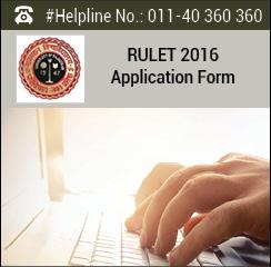 RULET 2016 Application Form