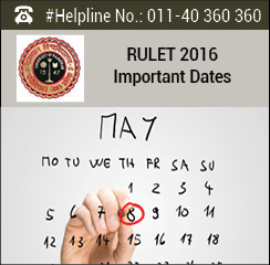 RULET 2016 Important Dates