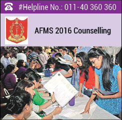 AFMS 2016 Counselling