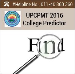 UPCPMT 2016 College Predictor