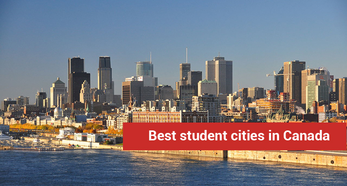 Best student cities in Canada